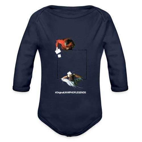 MARK B & BLADE - Organic Longsleeve Baby Bodysuit