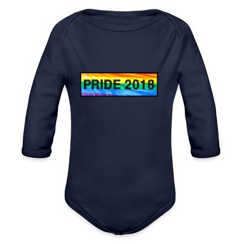 Pride 2018 long design - Organic Longsleeve Baby Bodysuit
