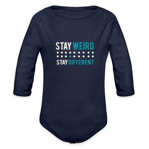 stay different - Baby Bio-Langarm-Body