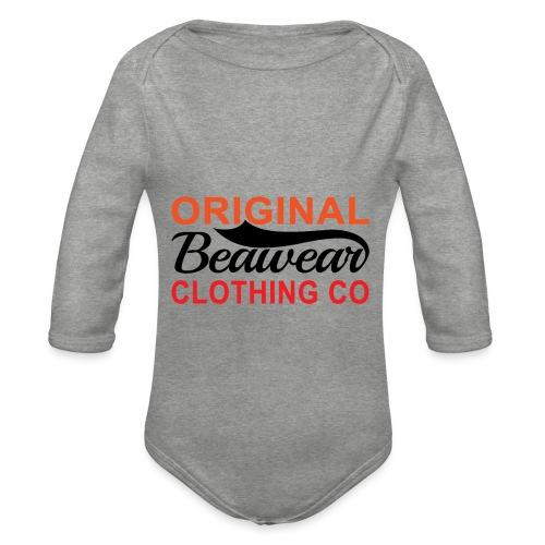 Original Beawear Clothing Co - Organic Longsleeve Baby Bodysuit