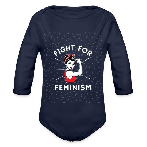shirt designer feminism - Body orgánico de manga larga para bebé