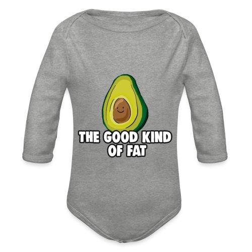 Avocado: The Good Kind of Fat - Organic Longsleeve Baby Bodysuit