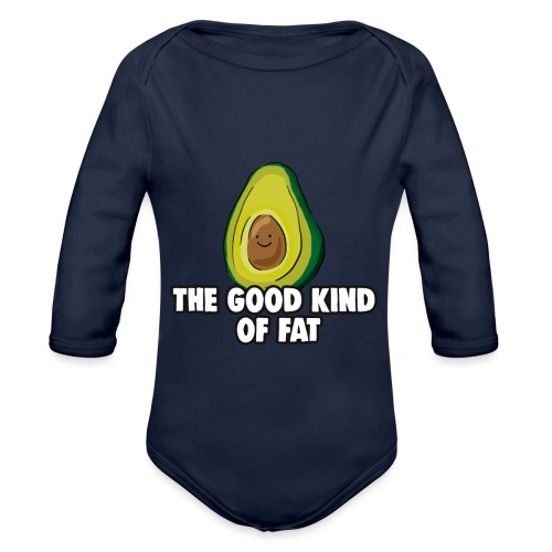 Avocado: The Good Kind of Fat - Organic Longsleeve Baby Bodysuit