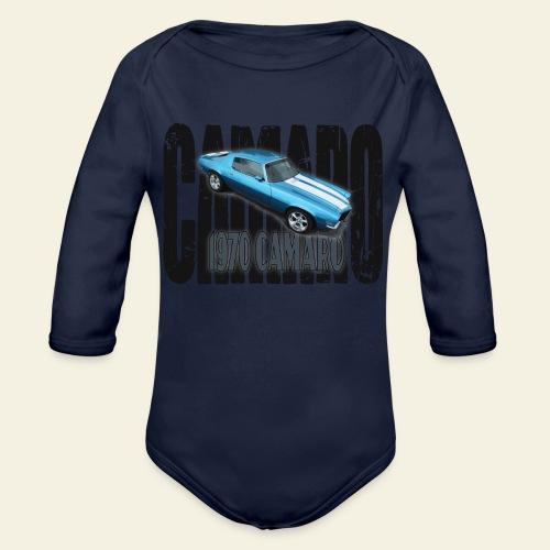 70 Camaro - Langærmet babybody, økologisk bomuld