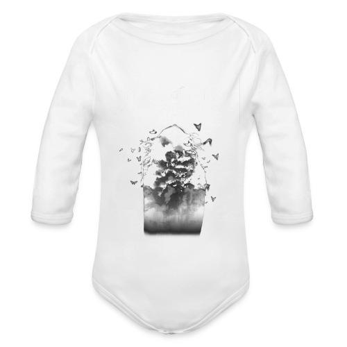 Verisimilitude - Zip Hoodie - Organic Longsleeve Baby Bodysuit