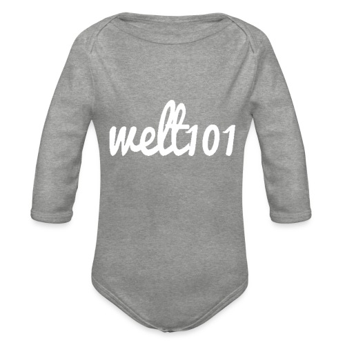 White Collection - Organic Longsleeve Baby Bodysuit