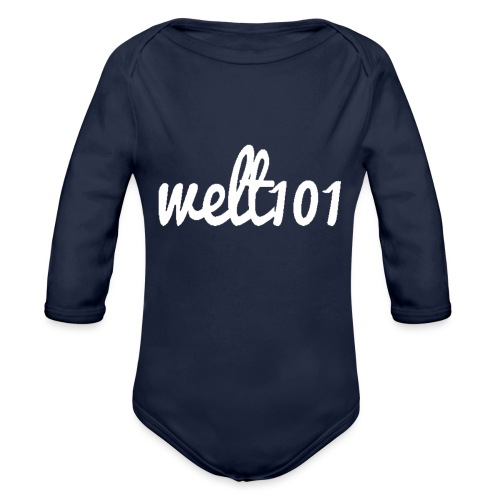 White Collection - Organic Longsleeve Baby Bodysuit
