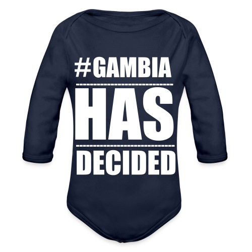 GAMBIA_HAS_DECIDED - Organic Longsleeve Baby Bodysuit