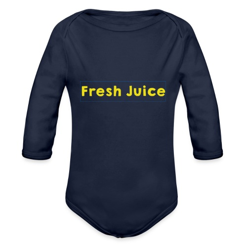 Fresh_Juice - Body bébé bio manches longues