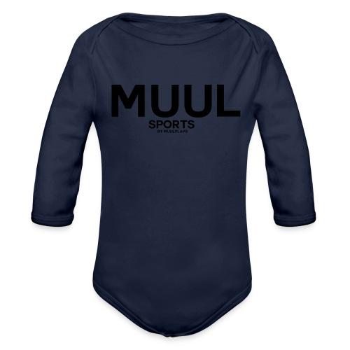 MuulSports - Baby Bio-Langarm-Body