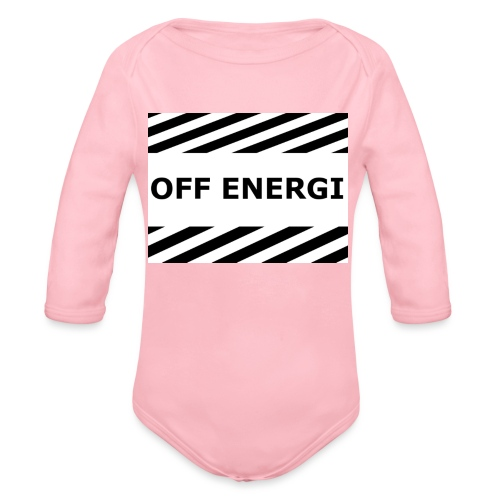 OFF ENERGI officiel merch - Ekologisk långärmad babybody