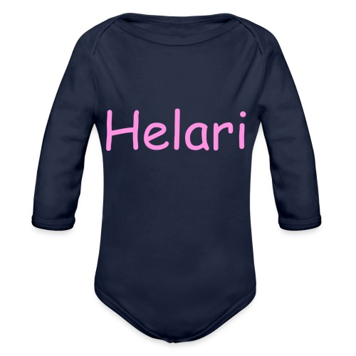 Helari Merch - Vauvan pitkähihainen luomu-body