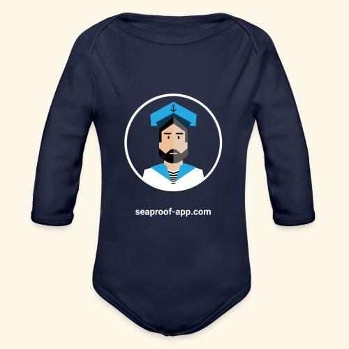SeaProof App - Baby Bio-Langarm-Body