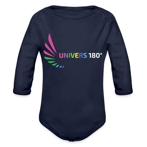 Univers 180° - Baby Bio-Langarm-Body