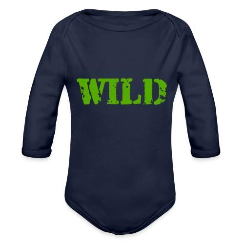 wild - Body ecologico per neonato a manica lunga
