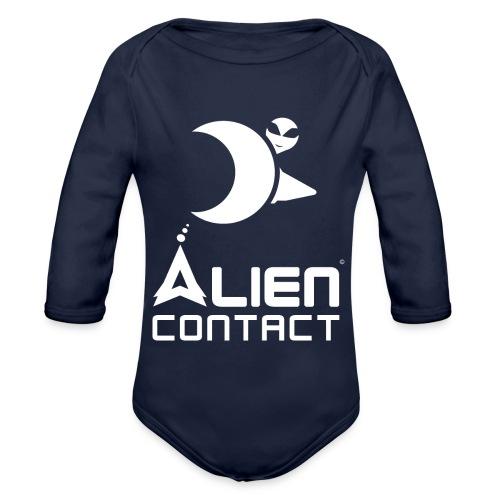 Alien Contact - Body ecologico per neonato a manica lunga