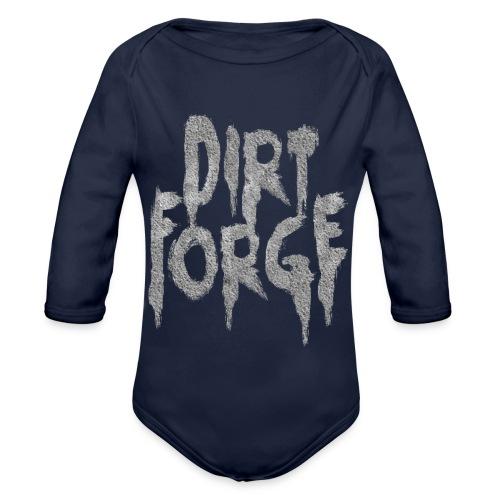 Dirt Forge Gravel t-shirt - Langærmet babybody, økologisk bomuld