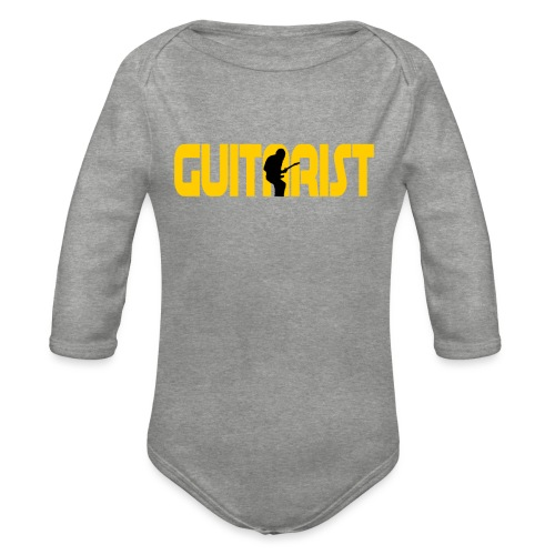 Guitarist - Organic Longsleeve Baby Bodysuit