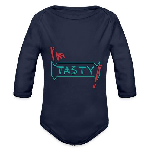 I'm tasty - Baby Bio-Langarm-Body