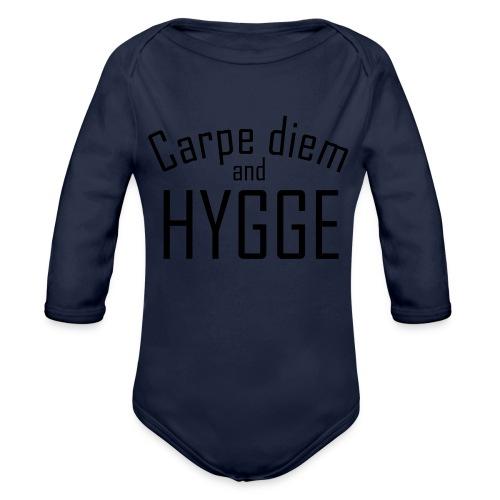 HYGGE Carpe diem - Baby Bio-Langarm-Body