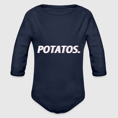 Kartoffel - Baby Bio-Langarm-Body