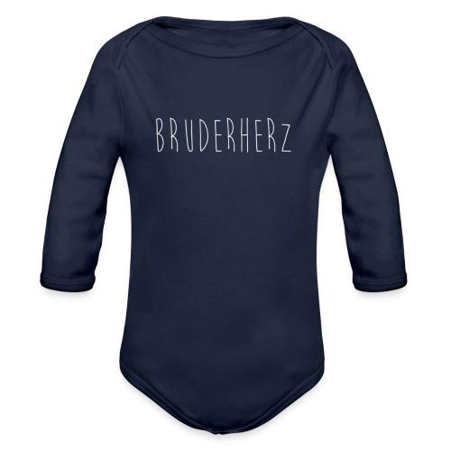 Bruderherz - Baby Bio-Langarm-Body