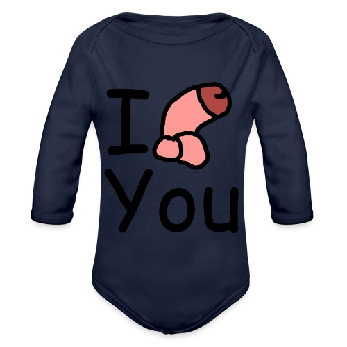 I dong you pack - Organic Longsleeve Baby Bodysuit