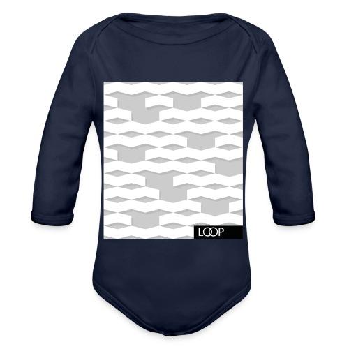 shopper_loop - Body ecologico per neonato a manica lunga