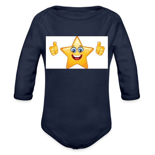 star-smiley-234 - Body ecologico per neonato a manica lunga