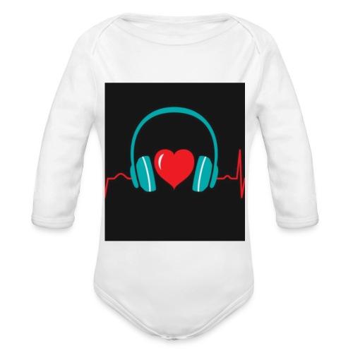 Victoria Sowinska - Organic Longsleeve Baby Bodysuit