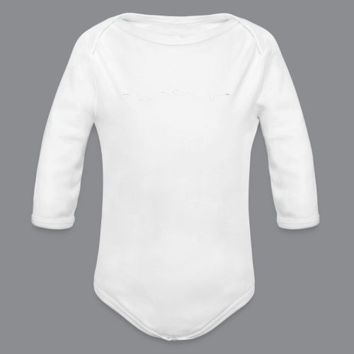Rotzbua Weiß - Baby Bio-Langarm-Body