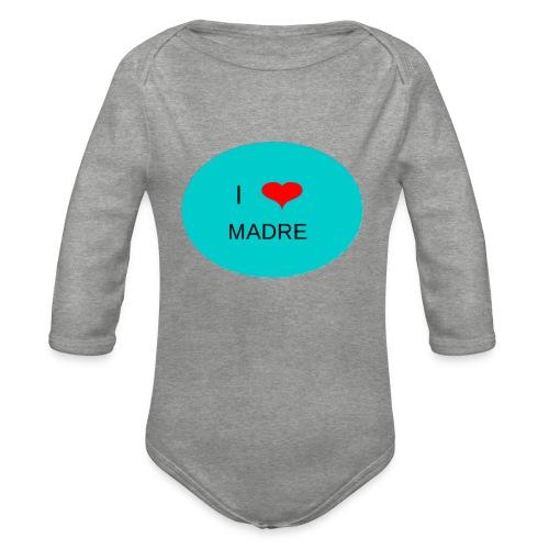 DIA DE LA MADRE - Body orgánico de manga larga para bebé
