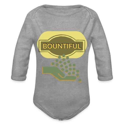 Bountiful - Organic Longsleeve Baby Bodysuit