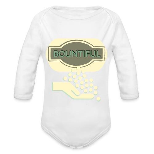 Bontifull - Organic Longsleeve Baby Bodysuit