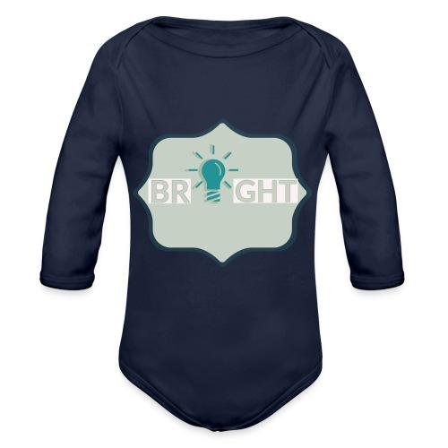 bright - Organic Longsleeve Baby Bodysuit