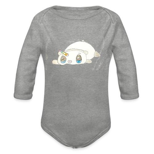 Kids for Kids: sleepingunicorn - Baby Bio-Langarm-Body