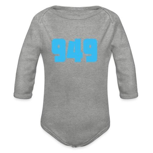 949blue - Baby Bio-Langarm-Body