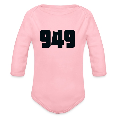 949black - Baby Bio-Langarm-Body