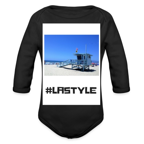 LA STYLE 2 - Organic Longsleeve Baby Bodysuit