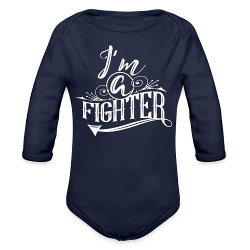 I'm a Fighter Design - Baby Bio-Langarm-Body