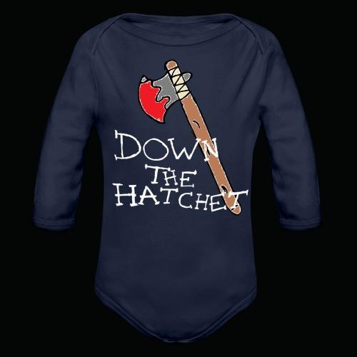 DTH Axe logo T-Shirt - Organic Longsleeve Baby Bodysuit