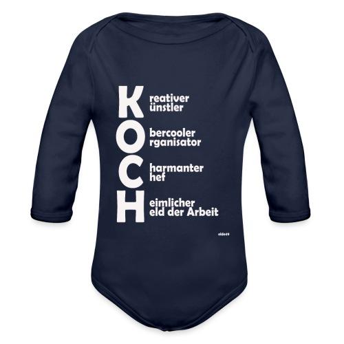 Was macht einen Koch aus? (Premium Shirt) - Baby Bio-Langarm-Body