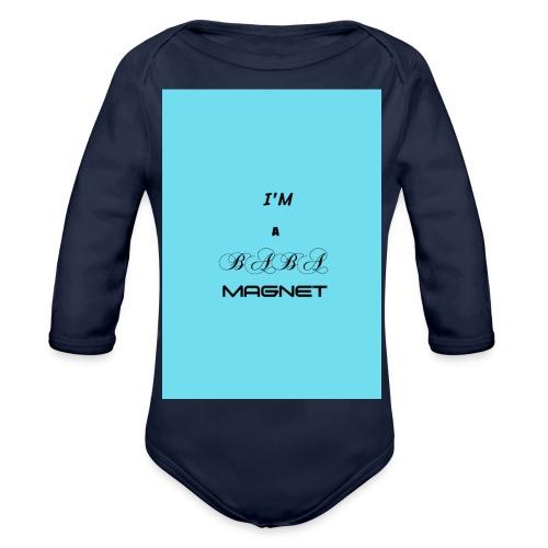 BABE MAGNET - Organic Longsleeve Baby Bodysuit