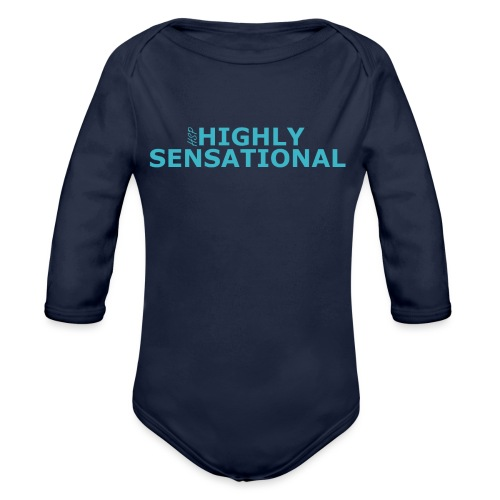 Highly sensational men's t-shirt - Organic Longsleeve Baby Bodysuit