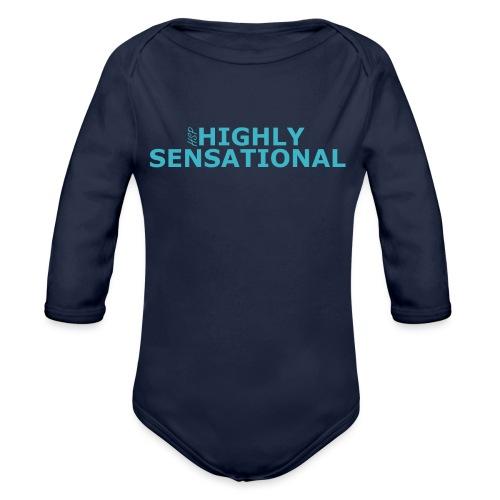 Highly sensational tote bag - Organic Longsleeve Baby Bodysuit