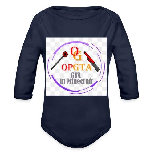 opgta logo - Vauvan pitkähihainen luomu-body