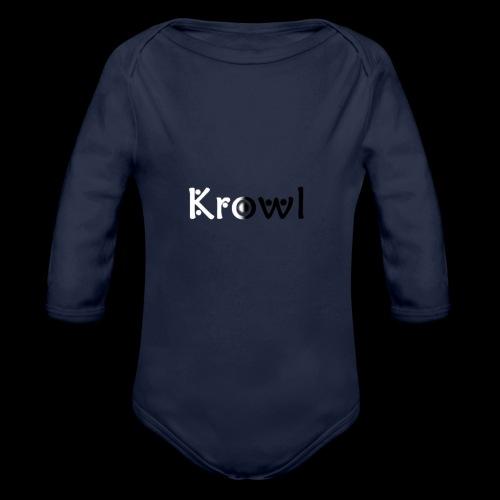 Krowl 1st Yin & Yang Design - Body Bébé bio manches longues