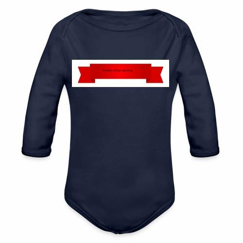 Fcg shop - Ekologisk långärmad babybody