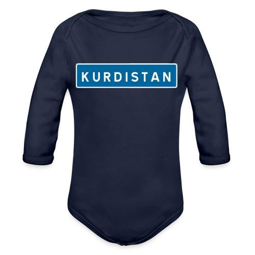 Kurdistanskylt - Ekologisk långärmad babybody