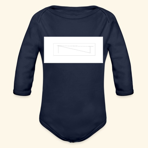 melles logga Design x2 - Ekologisk långärmad babybody